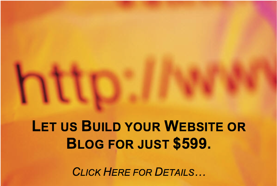 Website Development of Blogs, Informational Websites and eCommerce Websites